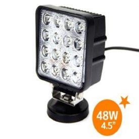 "4.3"" 2080 Lumen 48 Watt Square LED Flood Light-0"
