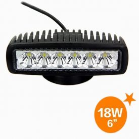 6 inch Flood Low Profile 780 lumen 18 watt LED Light-0
