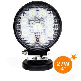 "4"" 1170 lumen 27 Watt Round Flood Light-0"