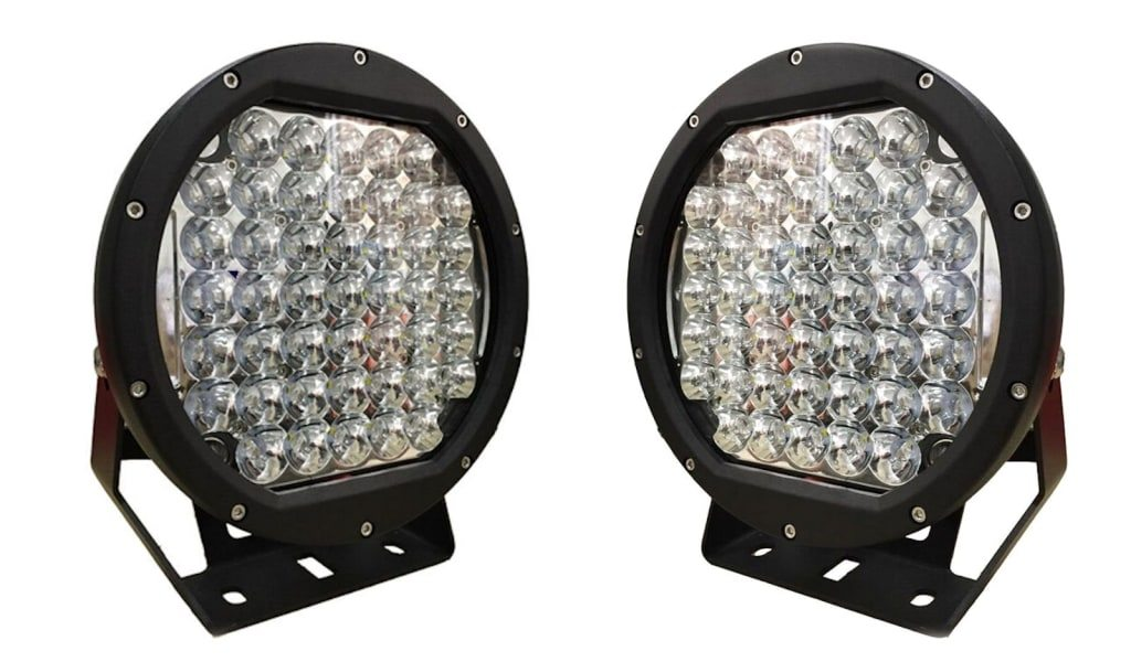 2 x 9 inch CREE XPG-2 37,600 lumen 225 watt LED Spot Lights-0
