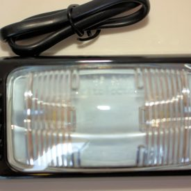 Side Marker LED Large Clear Waterproof 400mm Wire 12 / 24 volt