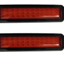 Red Stop / Park LED Tail Light x 2 Multivolt-0