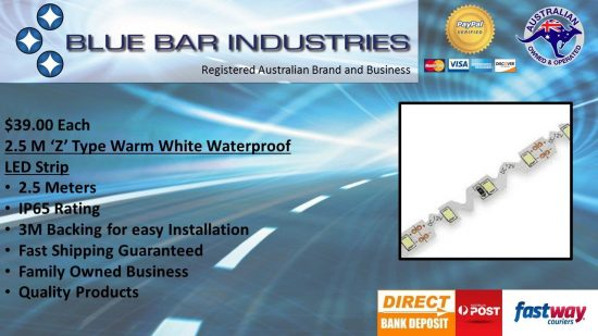 Z Type LED Strip-Warm White-2.5 metres-0