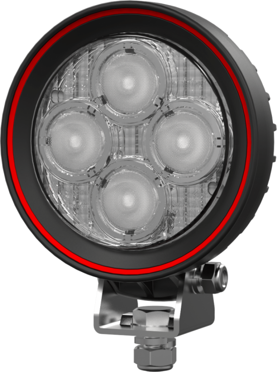 "4"" Round SupremeX High Performance Flood Light"